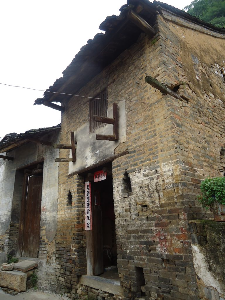 A typical house in a village close to Yangshuo.